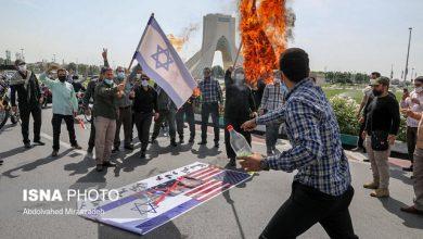 گزارش ایسنا از روز قدس تهران