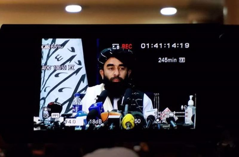 ذبیح الله مجاهد سخنگوی طالبان