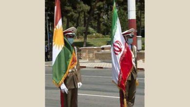 پرچم اقلیم کردستان در مراسم تحلیف؟!