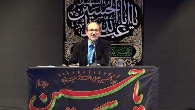 ناصر مهدوی: عاشورا آیینه ای است تا خود را تطهیر کنیم