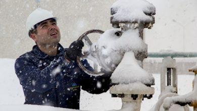 قطعی گاز در زمستان