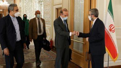 جشن تولد وزارت خارجهی دولت رئیسی برای انریکه مورا در تهران!