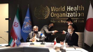 سخنان سفیر ژاپن در مراسم پروژه کمک بلاعوض کرونایی به ایران